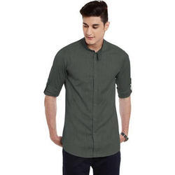 40 And42 Plain Men's Cotton Shirt