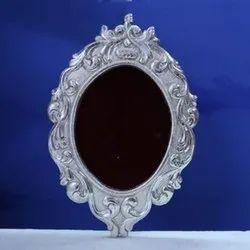Designer Silver Mirror Frame