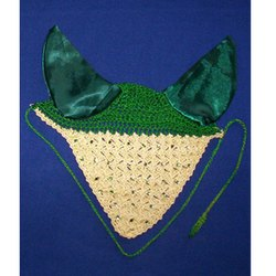 Green-Yellow Horse Ear Bonnet