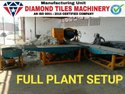 Mild Steel Cement Concrete Tiles Making Machine