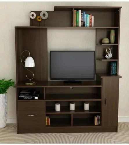 Wooden Tv Cabinet Metal Shoes Rack By