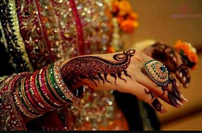 Mehndi Ceremony Quotes In : Top peacock mehndi designs for hands easyday