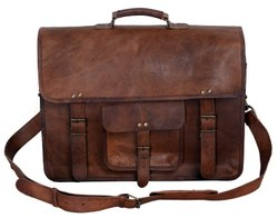 Leather Messenger, Shoulder, Laptop Bag