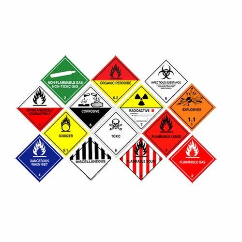 Hazardous Cargo Stickers At Rs 5 /piece