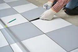 Residential Building Tiles Fitting Work, For Indoor, Area: Vadodara