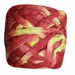 Cotton Red and Yellow Pooja Kalawa