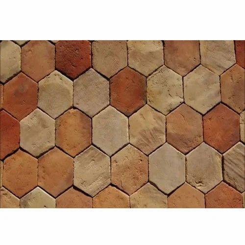 Clay Outdoor Floor Tile 5 10 Mm Rs 40, Outdoor Brick Floor Tiles