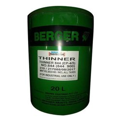 Berger Thinner Fast Solvent, Packaging Size: 20 L, Packaging Type: Barrel