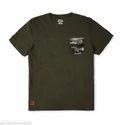 Casual And Party Wear Light Green - Mlg Camo Pocket T-shirt - Rlatsg000019, Size: Xl