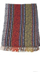Multicolor Stripes With Multiself Stripe Stole
