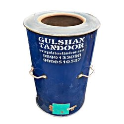 Blue Gas And Charcoal Drum Tandoor