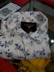 Men Cotton Printed Shirt
