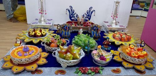 Plate Decoration Service - View Specifications & Details of Wedding Tray by R. G. Wedding Trays ...