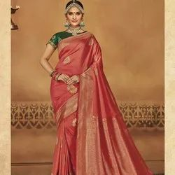Fancy Traditional Banarasi Silk Saree