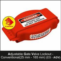 Adjustable Gate Valve Lockout