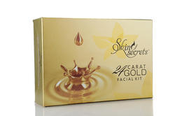 Skin Secrets 24 Carat Gold Facial Kit, Packaging Size: 310 Gms, for Personal, Parlour
