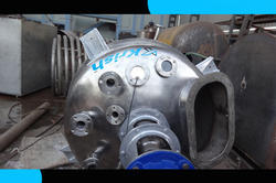 Double Jacketed Mixing Tank