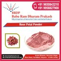 Dried Red Rose Petals Powder