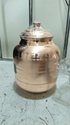 Cylindrical Round Plain Copper Matka, For Home, Size: Capacity 5-20litre