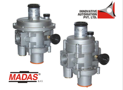 Madas Gas Pressure Regulator with Safety Shut Off