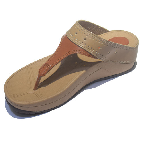 7e303b1cb7e23a Ladies Synthetic Flip Flop Sandal