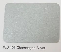 Wd-103 Champagne Silver ACP Sheets