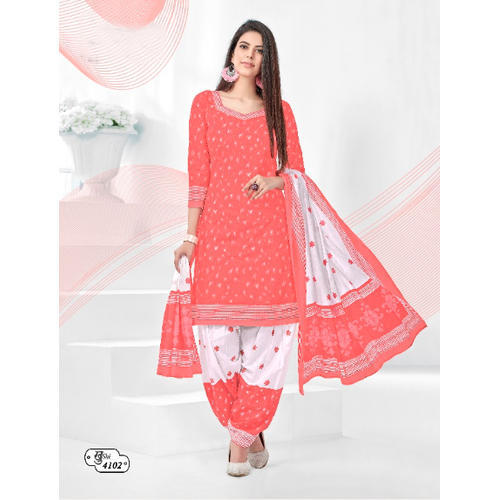 0352dfa0d1 Cotton Fancy Pink Salwar Suit Material, Rs 375 /piece, Balkrishna ...