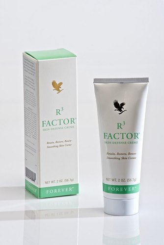 Forever R3 Factor Skin Defense Creme, Ingredients: Herbal, Tube