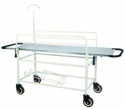GCC Simons Grey Hospital Stretcher Trolley, Size: 78 X 22 X 32