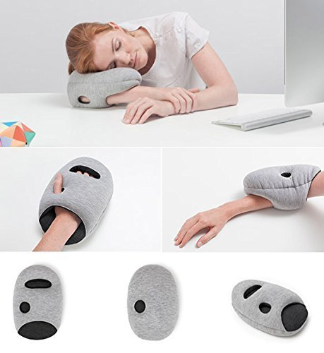 Smartcraft Mini Nap Pillow Travel Pillow For Airplanes Car Office