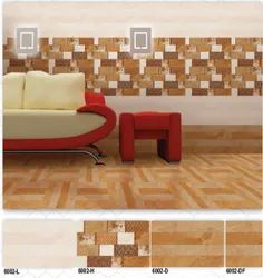 6002 (L, H, D, DF) Hexa Ceramic Digital Wall Tiles
