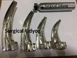 Laryngoscope 4 Blade S.S Finish