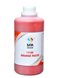 Orange Pigment Paste For Paint