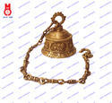 Temple Bell Carved With Durga & Mantra