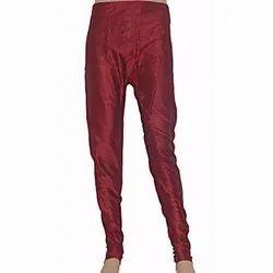 Formal Wear Plain Mens Maroon Silk Pajama, Handwash, Size: Free
