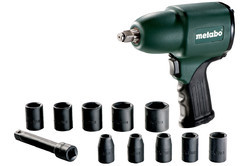 Metabo 1/2 Pneumatic Impact Wrench, Dssw 360 Set, Warranty: 6 Months