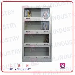 Stainless, Steel Steel Cupboard For Library And Hospital