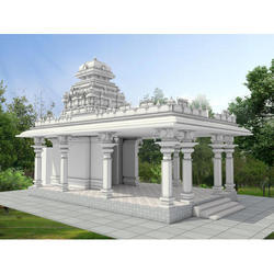 White Marble Temple Construction Service