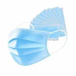 Disposable 3 Ply Non Woven Surgical Face Mask