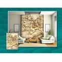 Pvc 3d Custom Wallpaper, Thickness: 1-5 Mm
