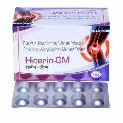 Diacerin, Glucosamine & Msm Tablets