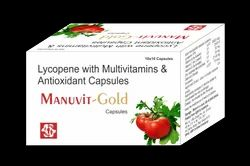 Lycopene With Multivitamins And Antioxidant Capsules