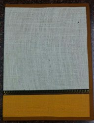 Double colour jute file