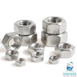 Hexagonal Stainless Steel Nuts, Size: M6 To M100
