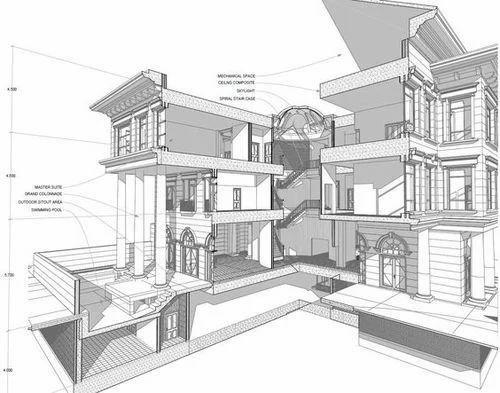 Residential Building Drawing Service in Kranti Chowk
