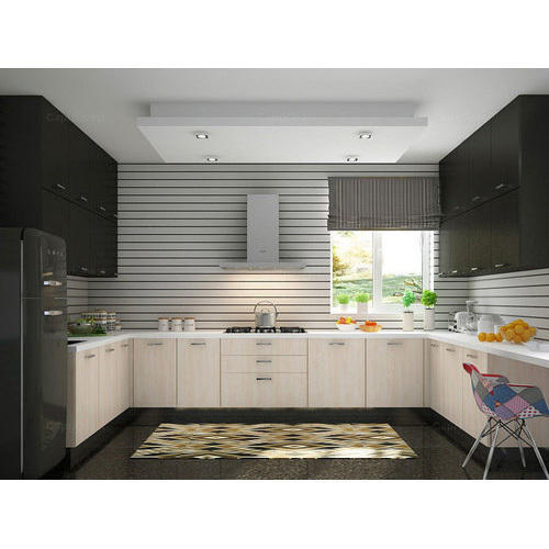 U Shape Modular Kitchen Manufacturer