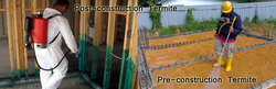 Post-Construction Termite Treatment Service
