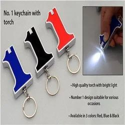 Promotional Keychain with Torch