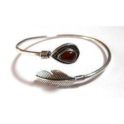 Handmade Silver Plated Brass Exclusive Designs Bangle