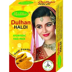 Dulhan Haldi Ayurvedic Face Pack, Powder, Box